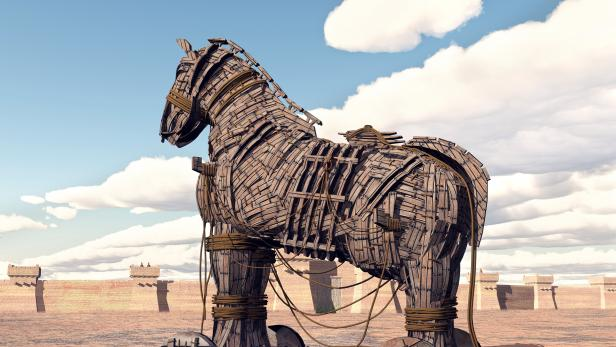 Trojan Horse at Troy