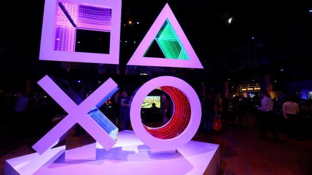 FILE PHOTO: Sony playstation preview at E3 2017 in Los Angeles