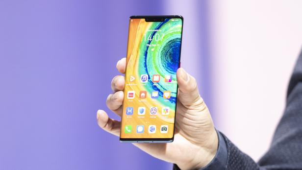 Huawei presents new Huawei Mate 30 and 30 Pro in Munich