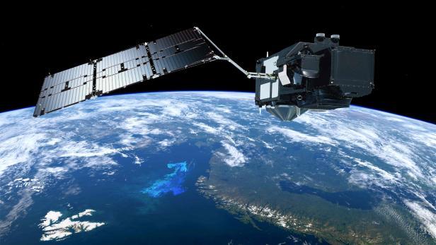 SPACE-SATELLITE-SENTINEL 3B