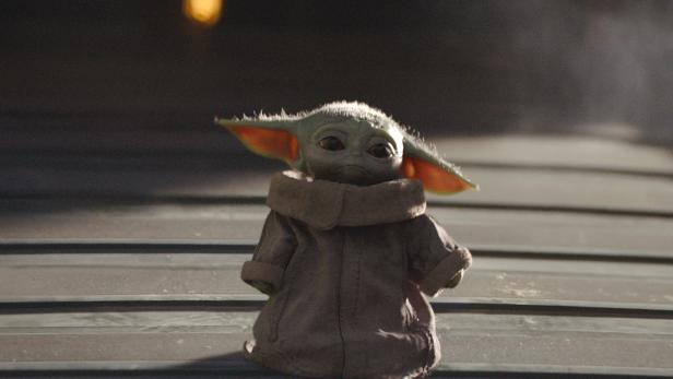 """The Child, better known to audiences as """"Baby Yoda"""", is seen in an undated still image from the Disney+ series """"The Mandalorian\"""