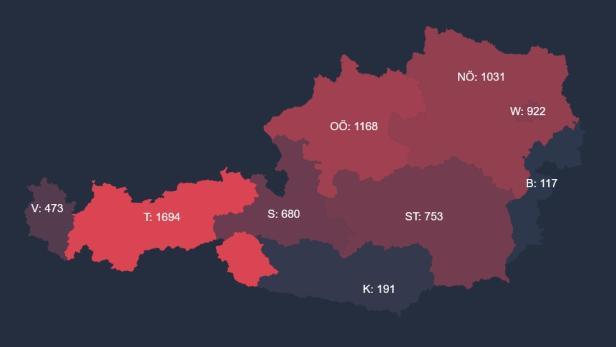 Corona Zahlen österreich Aktuell