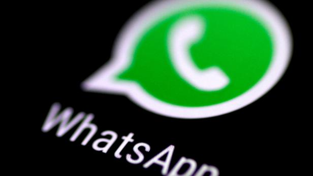 FILE PHOTO: The WhatsApp messaging application is seen on a phone screen