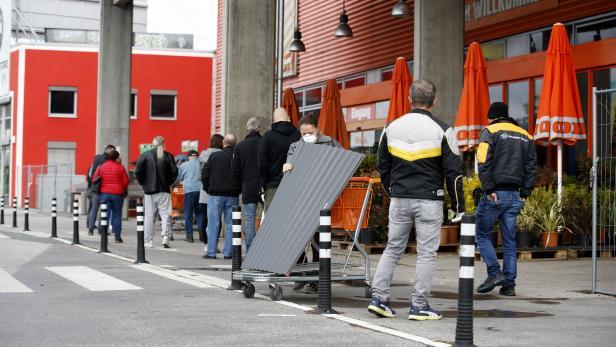 CORONAVIRUS: STEIERMARK - LOCKERUNGEN IM EINZELHANDEL - GARTENCENTER