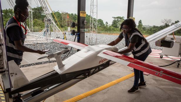 GHANA-HEALTH-TECHNOLOGY-DRONES