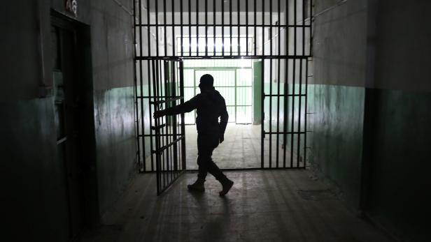 The Wider Image: Inside the prisons where remnants of Islamic State are held in limbo