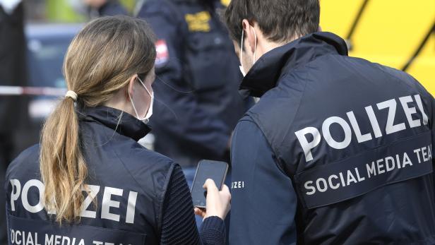 WIEN: POLIZEI / SOCIAL MEDIA TEAM