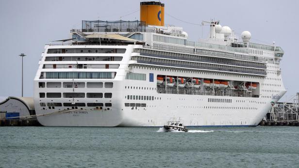 Cruise ship Costa Victoria in Civitavecchia