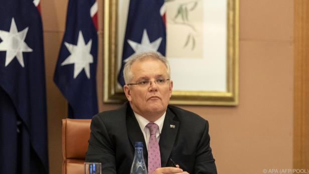 Ministerpräsident Morrison sagte seine Teilnahme zu