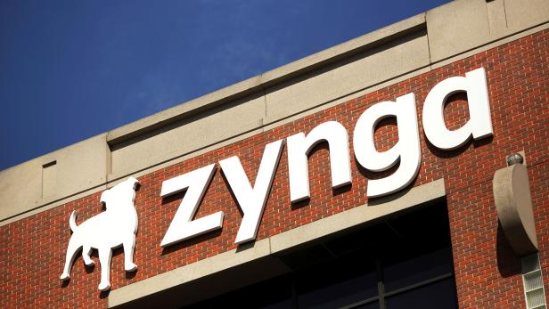 FILE PHOTO: The Zynga logo is pictured at the company's headquarters in San Francisco