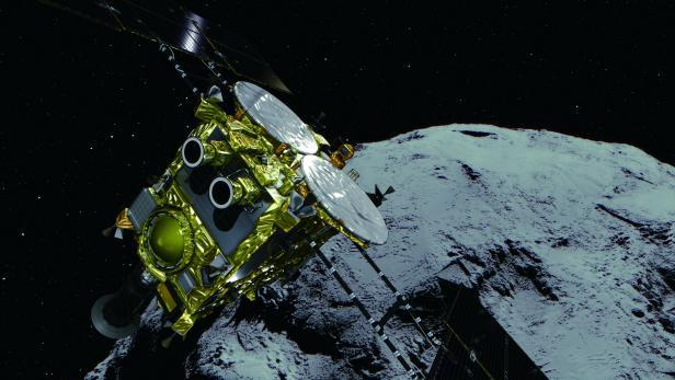 JAXA's Hayabusa2 space probe lands on asteriod
