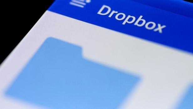 FILE PHOTO: Illustration photo of the Dropbox app