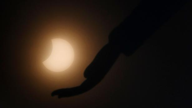 INDIA-ASTRONOMY-ECLIPSE
