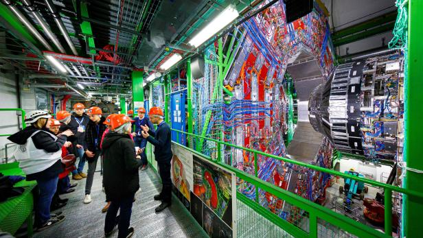 FRANCE-SWITZERLAND-SCIENCE-PHYSICS-PARTICLE-CERN
