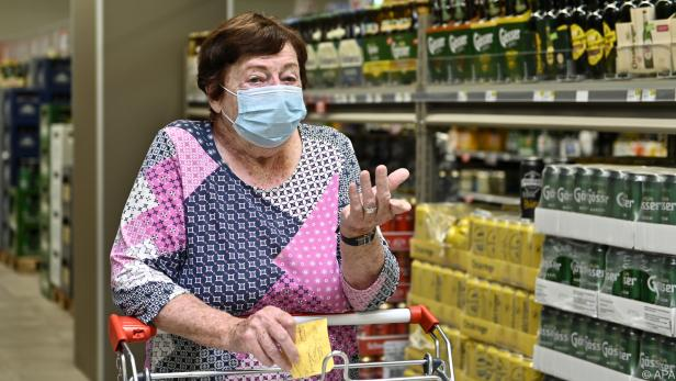 Maskenpflicht u.a. in Lebensmittelgeschäften