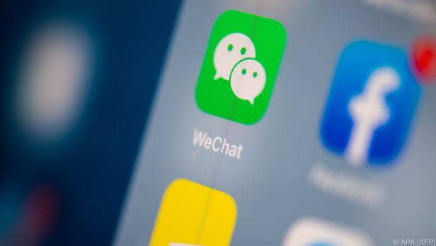 Die in China sehr beliebte App WeChat steht in den USA vor dem Aus