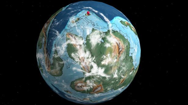 Wien vor 400 Millionen Jahren