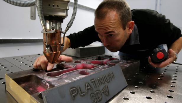 FRANCE-SCIENCE-TECHNOLOGY-INNOVATION-3D-METAL-ADDITIVE-MANUFACTU