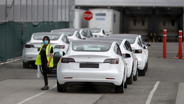 Tesla Fabrik