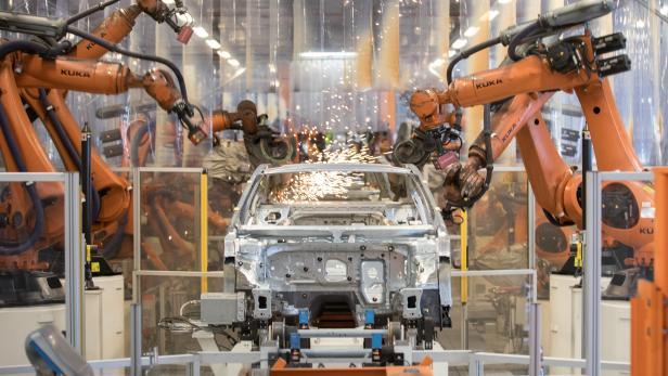 Volkswagen-Produktion in Emden
