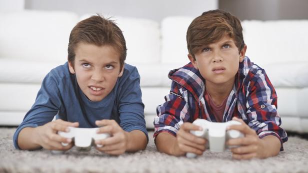 Wütende Gamer