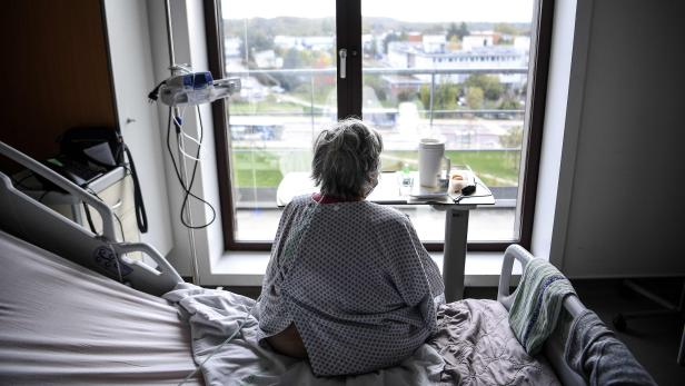 Patient im Krankenhaus