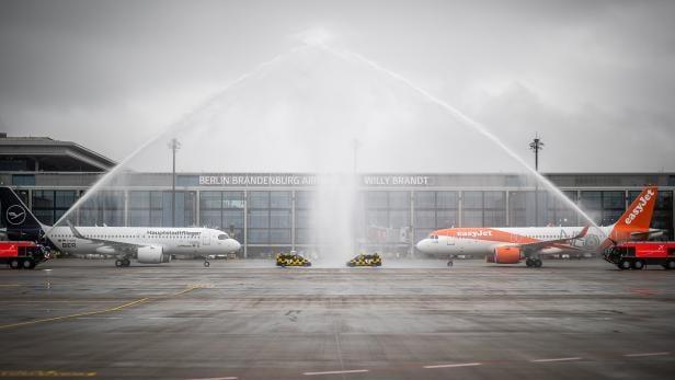 Opening of the Berlin Brandenburg airport