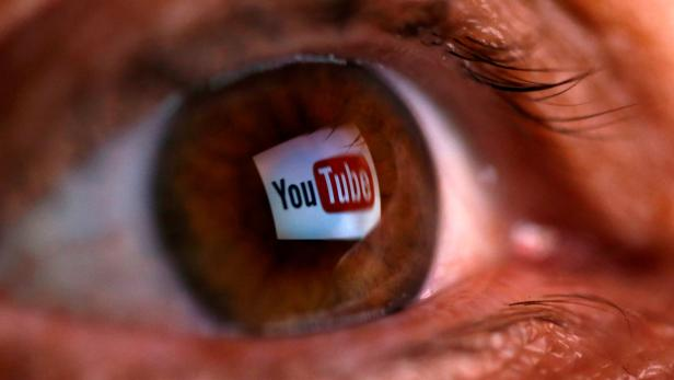 FILE PHOTO: FILE PHOTO: A picture illustration shows a YouTube logo reflected in a person's eye, in central Bosnian town of Zenica
