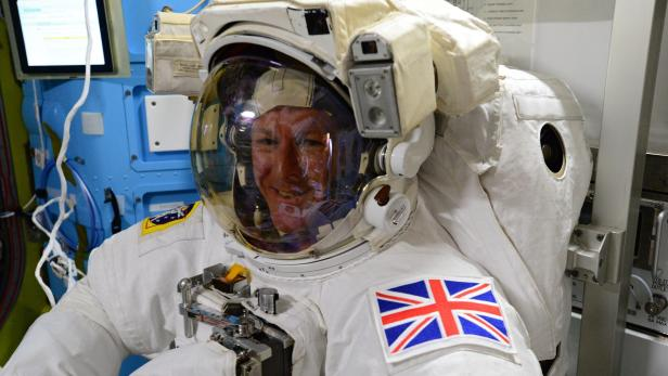 Tim Peake becomes first British spacewalker from ISS