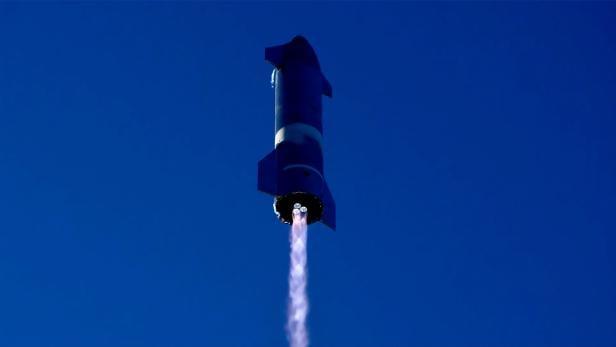 SpaceX Starship SN8 test flight