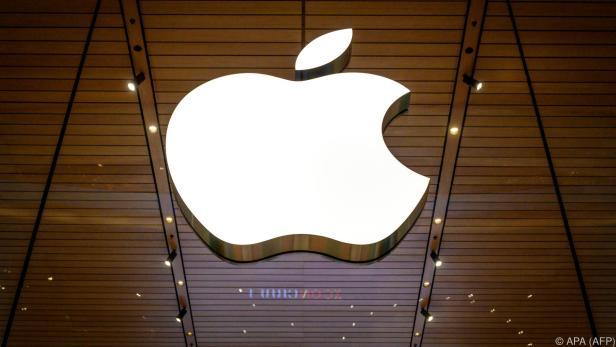 Apple ist an der Börse 2,3 Billionen Dollar wert