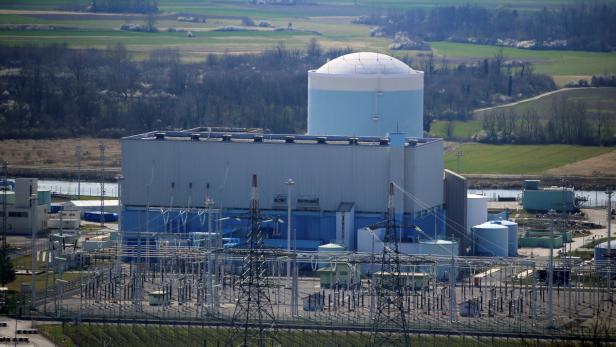 Das Atomraftwerk in Krsko