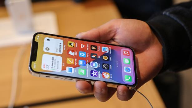 New iPhone 12 goes on sale in China