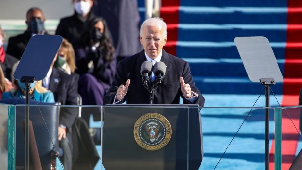US-JOE-BIDEN-SWORN-IN-AS-46TH-PRESIDENT-OF-THE-UNITED-STATES-AT-