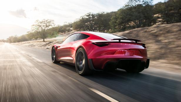 Tesla presents a new electric roadster