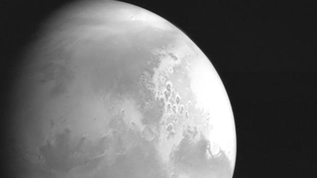 First image of Mars taken by China's Tianwen-1 unmanned probe