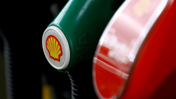 FILE PHOTO: A Shell logo is seen on a fuel pump at a gas station In Warsaw, Poland