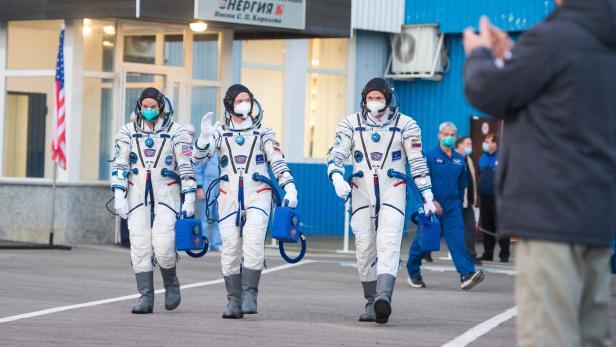 KAZAKHSTAN-RUSSIA-US-SPACE-ISS