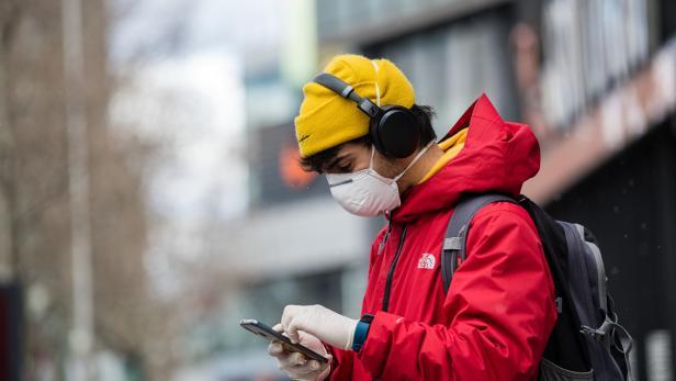 Daily Life in Berlin amid coronavirus pandemic