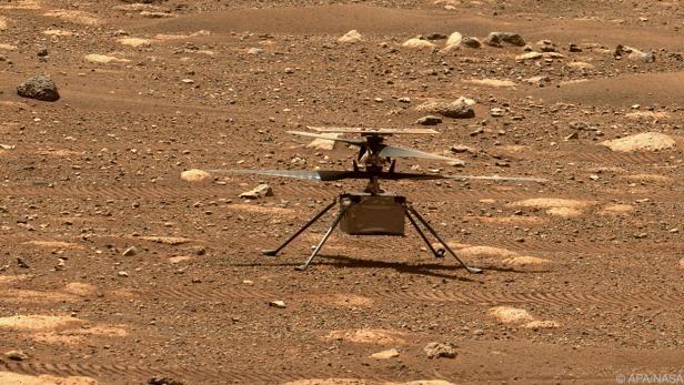 """Rotorentest des Helikopters """"Ingenuity"""" wurde vorzeitig abgebrochen"""