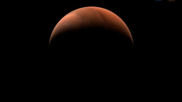 Foto des Mars von chinesischer Raumsonde