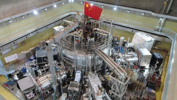 CHINA-NUCLEAR-FUSION-SCIENCE-ENERGY
