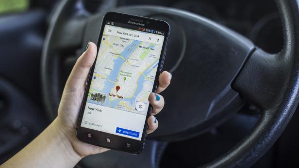 Google Maps for New York