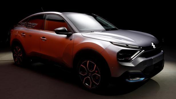 PSA's Citroen unveils its new C4 cars in Paris