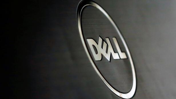 FILE PHOTO: A Dell logo is seen in this illustration picture taken in Sarajevo