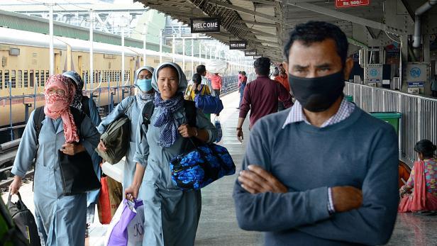 Coronavirus preventions measures in Assam, India