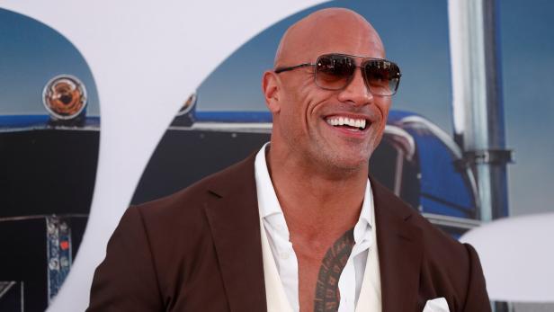 """Dwayne """"The Rock"""" Johnson bei einer Filmpremiere"""