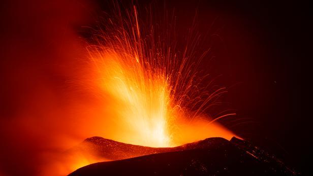 Mount Etna, Europe's most active volcano, erupts