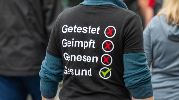 Demonstrationen gegen Corona-Politik in Berlin