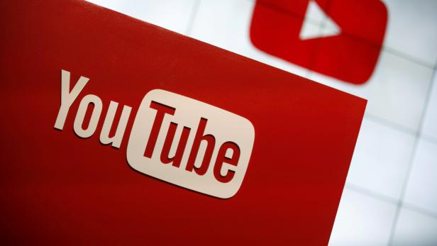 FILE PHOTO: A YouTube logo seen at the YouTube Space LA in Playa Del Rey, Los Angeles, California, United States